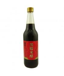 Otet negru condimentat 600ml(Patchun) 八珍黑米醋