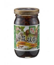 Usturoi prăjiți in ulei de soia 210g 状元香蒜拌酱