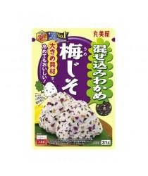 Condimente pentru orez (Furikake) Umejiso 31g 梅花紫苏饭素