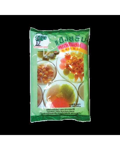 Amidon de soia verde 400g(沙淋绿豆粉)