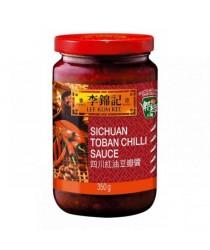 Stil Sichuan Toban chilli sos 350g 四川红油豆瓣酱