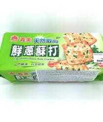 Soda biscuiti 140g(cu ceapa verde)