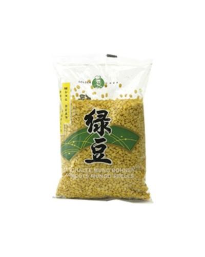 Fasole verde decojite 400g 脱皮绿豆