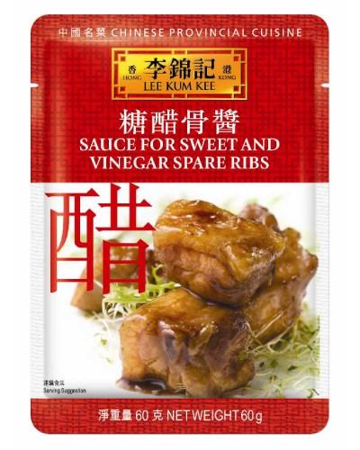 LKK Sos dulce acrisor pentru coaste de porc 60g 糖醋排骨酱