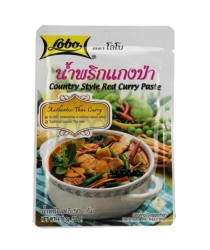 Pasta curry (country style red ) 50g