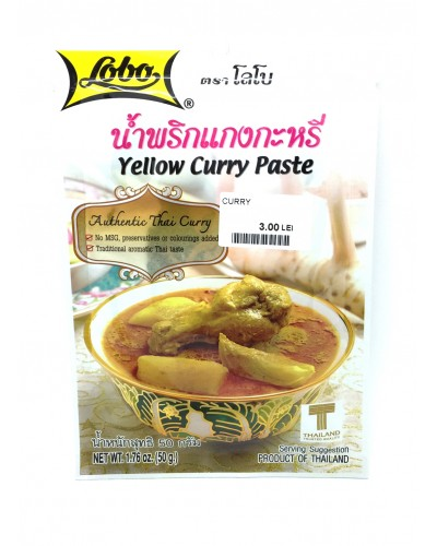 Curry pasta galbena 50g