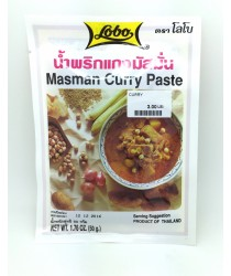 Masman Curry pasta 50g